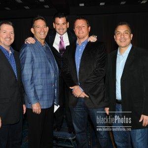 Honoree - David Samson w/Marc Delpano, Jeff McAvoy, Mike Berger & Craig Weissmann - Miami Marlins