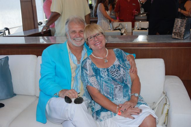 Captain Lee Bravo Tv S Below Deck And His Wife Mary Ann
